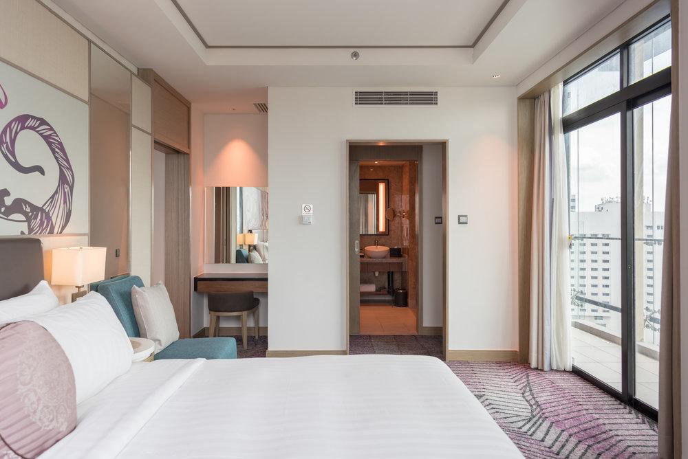 Bedroom  One Bedroom Suite - Amari Johor Bahru