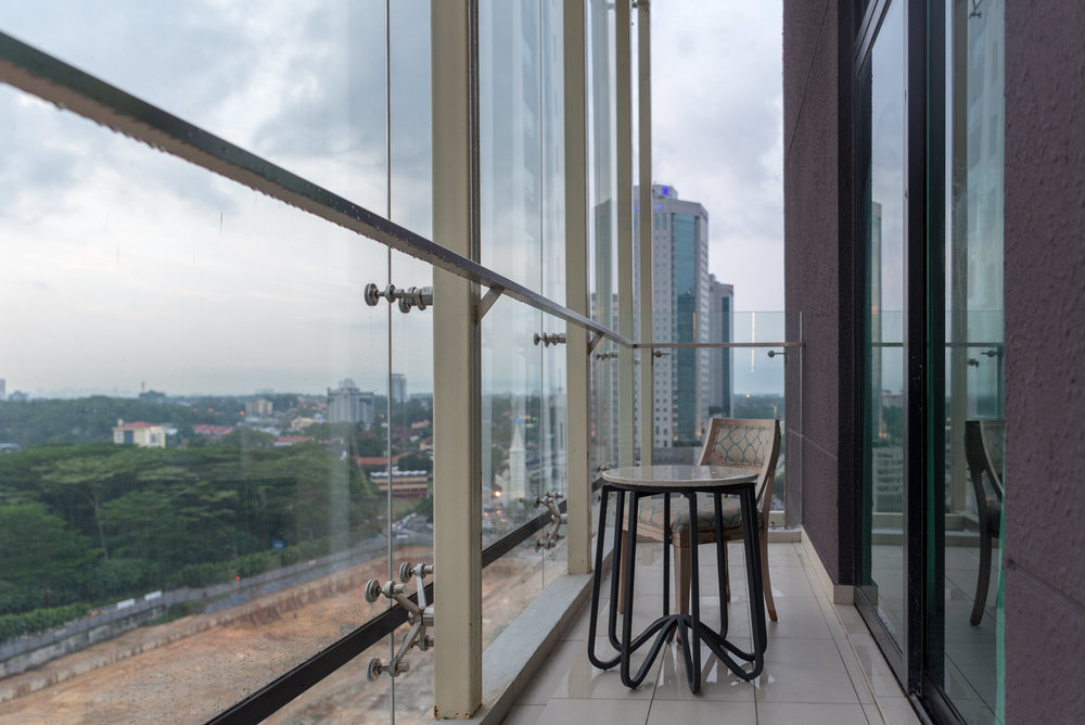 Private Balcony  One Bedroom Suite - Amari Johor Bahru