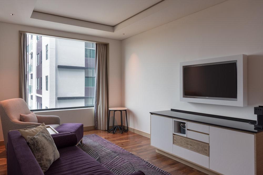 Living Room  One Bedroom Suite - Amari Johor Bahru