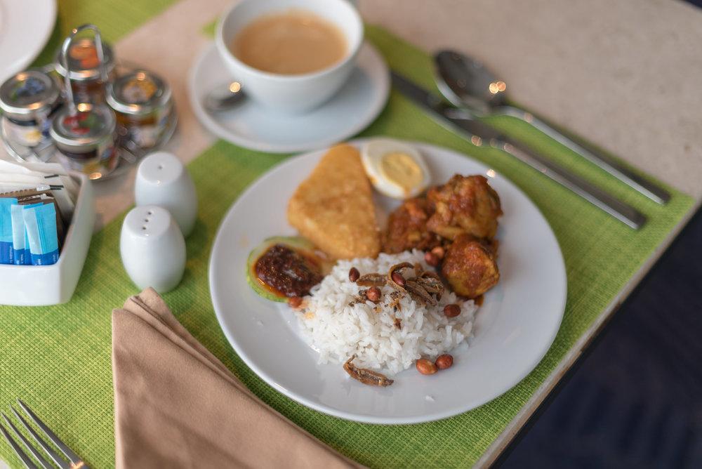 Breakfast  Executive Lounge - Amari Johor Bahru