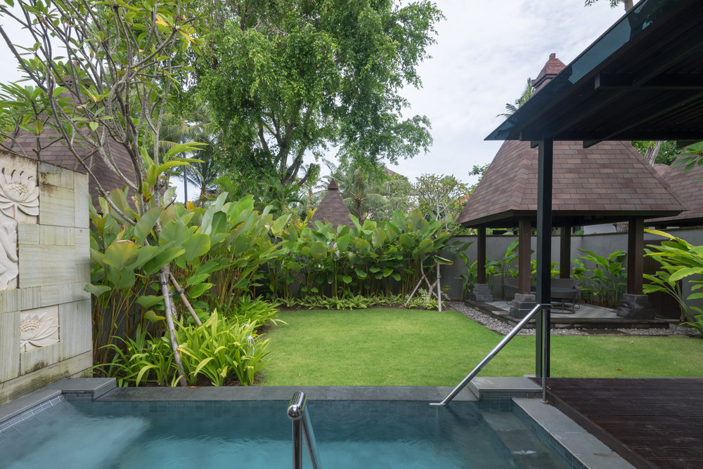 Private Pool and Garden  Pool Villa - Conrad Bali