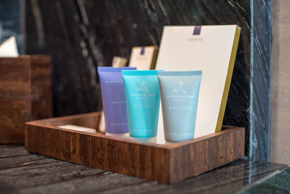 Bath Amenities  Pool Villa - Conrad Bali