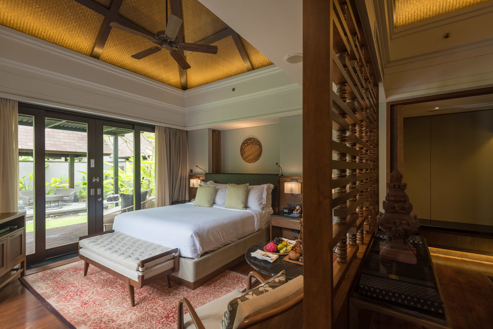 Bedroom and Walk-in Wardrobe  Pool Villa - Conrad Bali