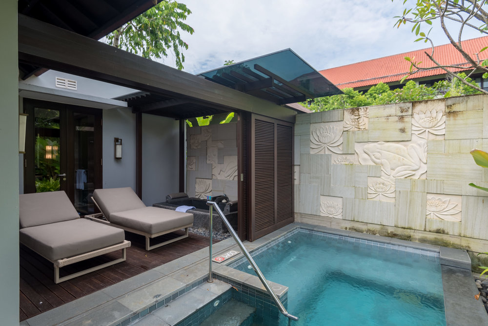 Private Pool and Sun Terrace  Pool Villa - Conrad Bali