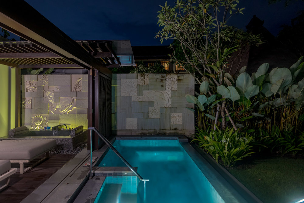 Private Plunge Pool  Pool Villa - Conrad Bali