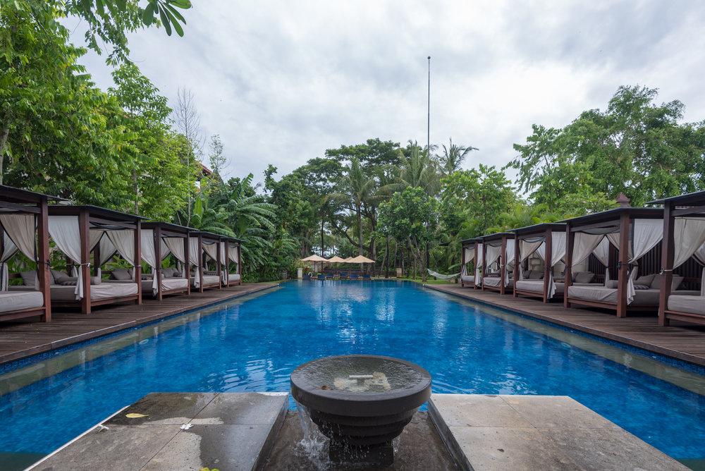 Conrad Suites Pool  Conrad Bali