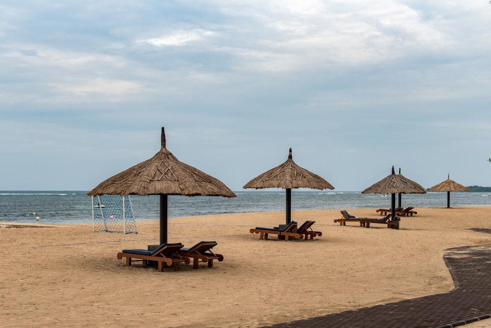 Beachfront  Conrad Bali