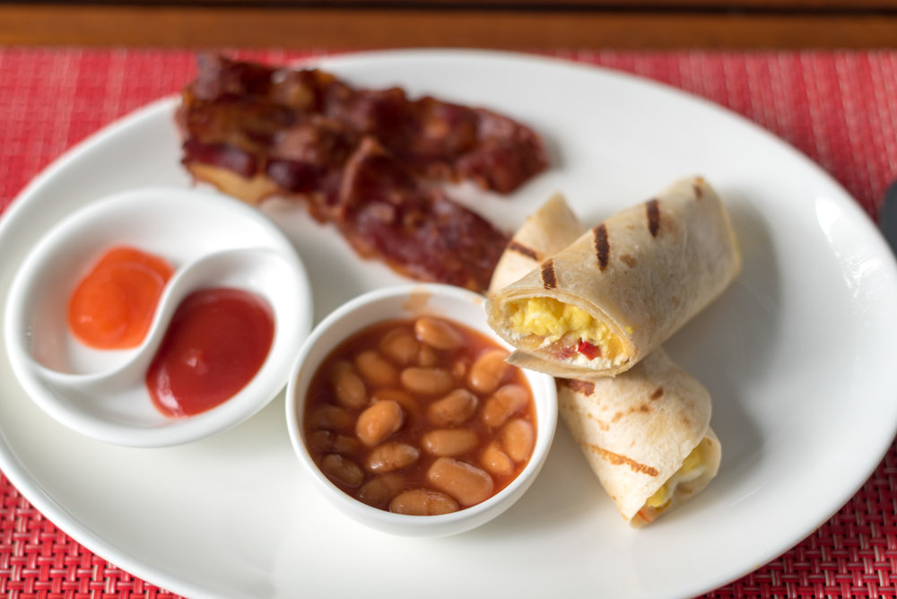Breakfast Burrito - Breakfast  RIN - Conrad Bali