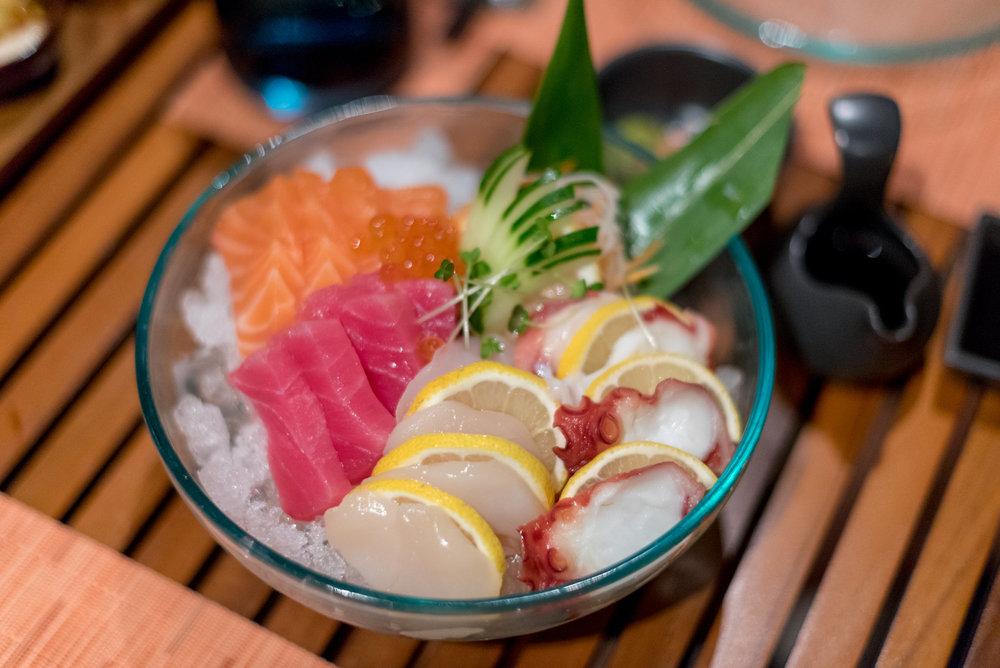 Fresh Sashimi  RIN - Conrad Bali