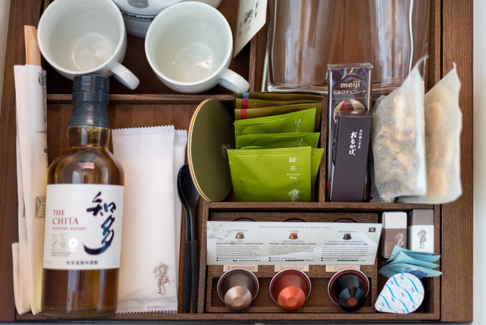 Complimentary Minibar (Excluding Alcohol)  Andaz King Room - Andaz Tokyo Toranomon Hills