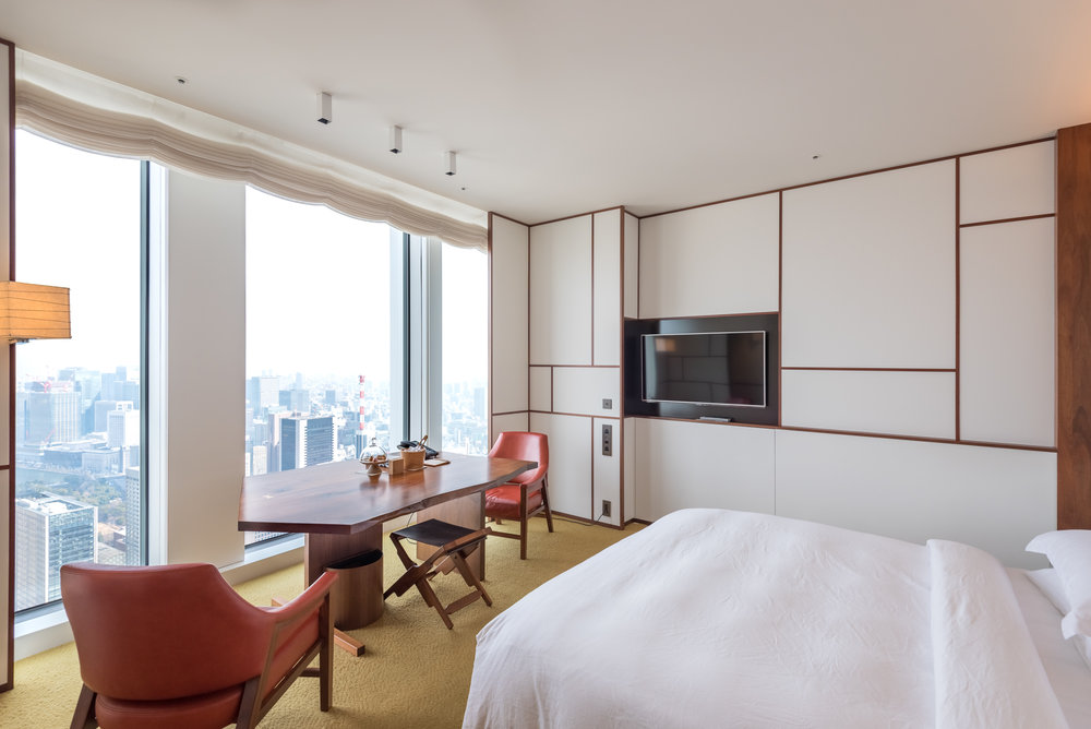 Room with a View  Andaz King Room - Andaz Tokyo Toranomon Hills