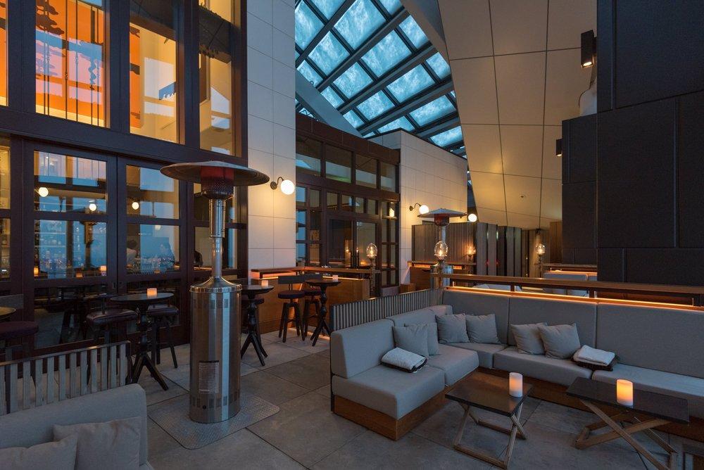 Outdoor Seating Area  Rooftop Bar - Andaz Tokyo Toranomon Hills