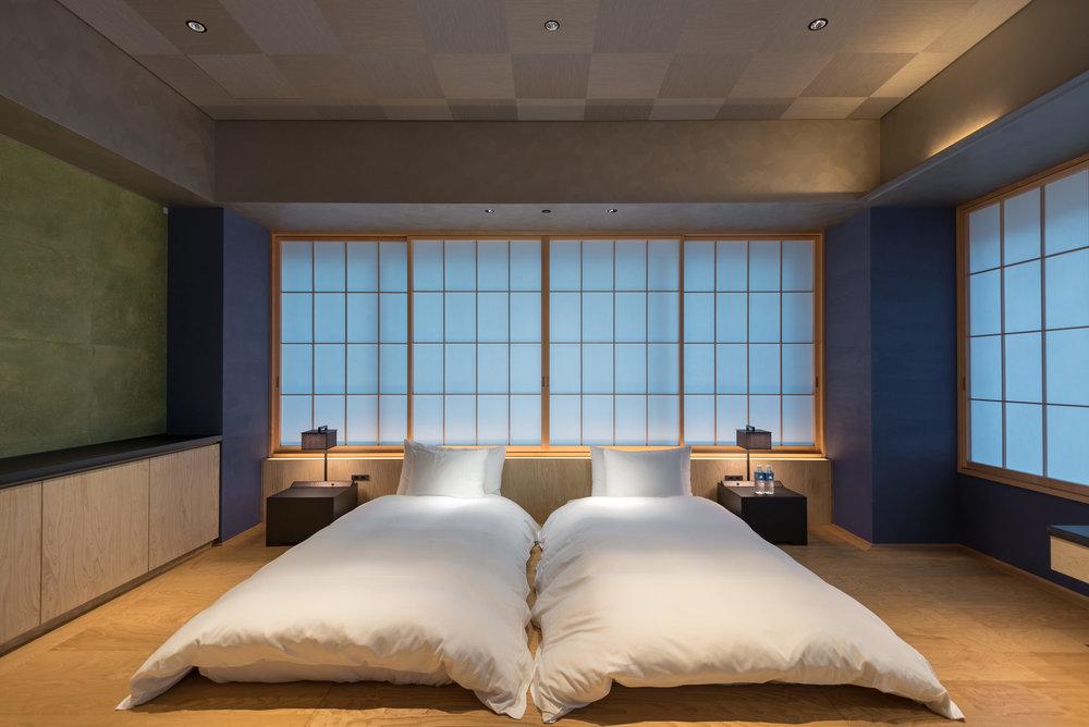 Bedroom  Kiku - HOSHINOYA Tokyo