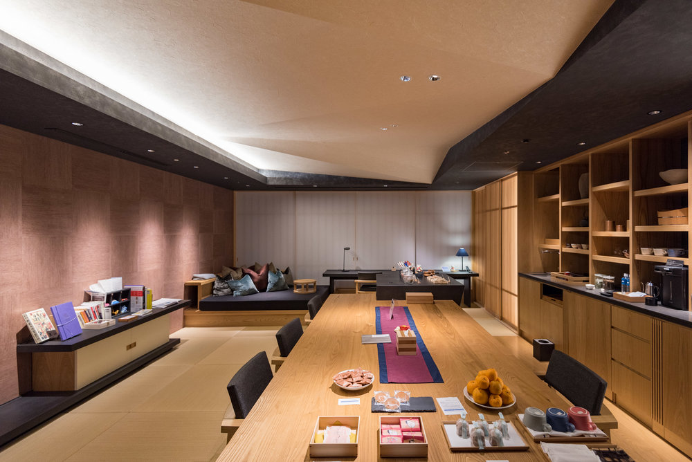Seating Area  Ochanoma Lounge -HOSHINOYA Tokyo