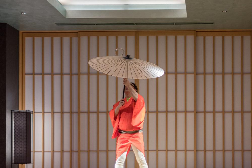 Grand Karuga Performance  SAKE Lounge - HOSHINOYA Tokyo