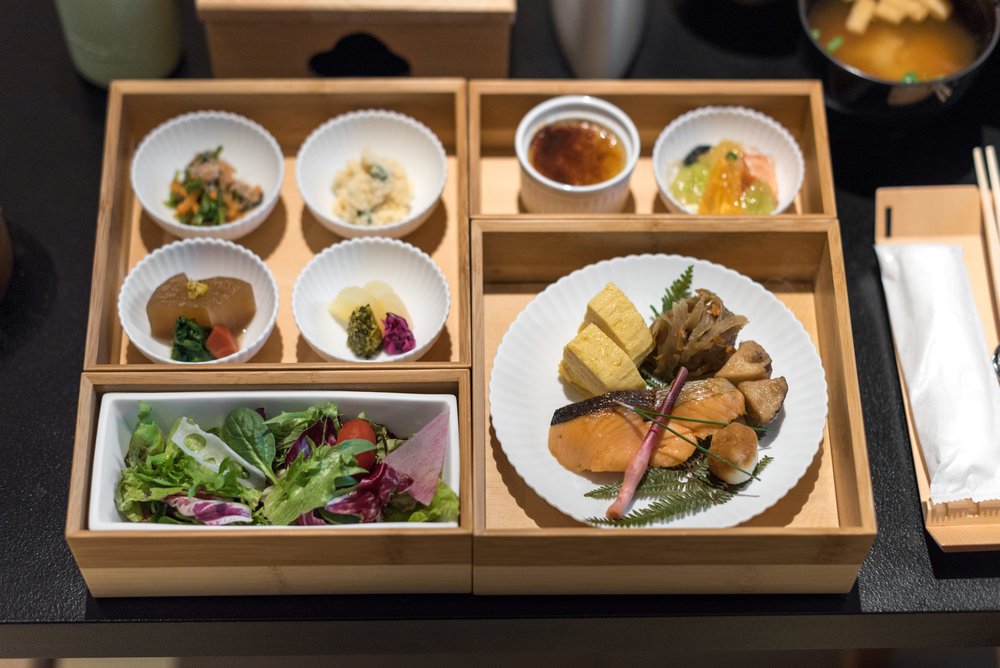 Breakfast  Kiku Room - HOSHINOYA Tokyo