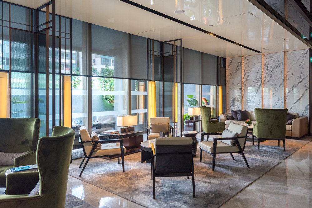 Quayside Lounge  InterContinental Singapore Robertson Quay