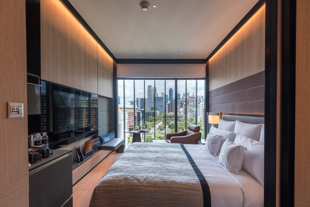 Bedroom  Club Riverview Studio King - InterContinental Singapore Robertson Quay