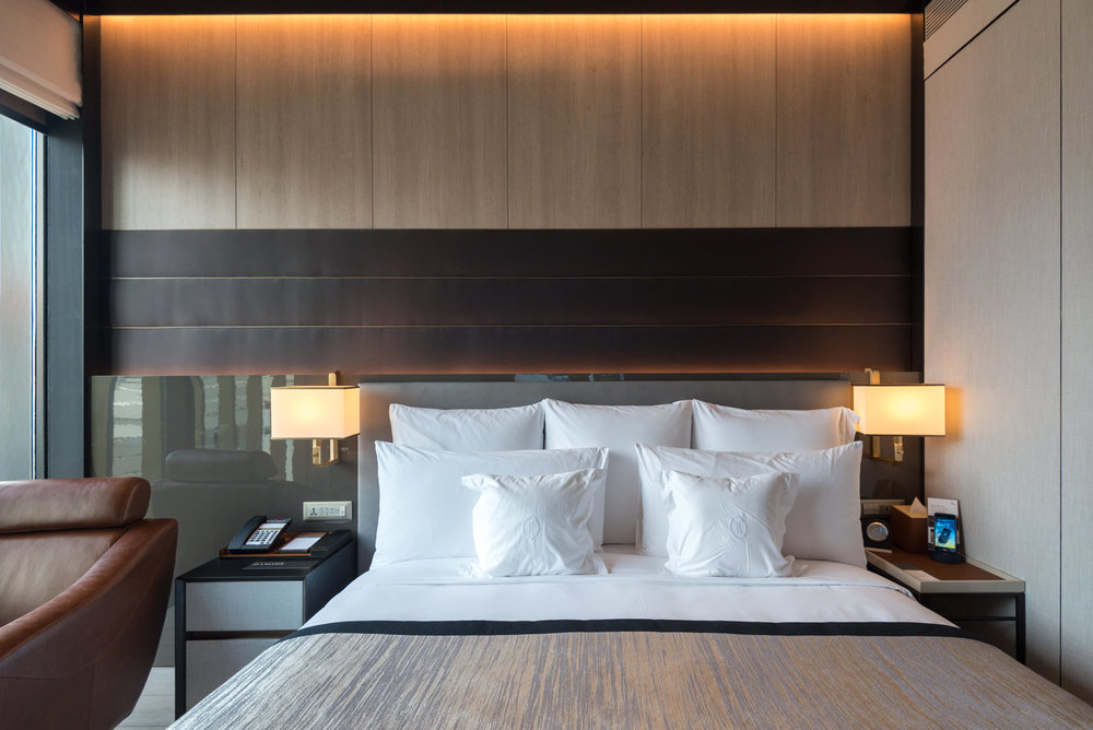 King Bed  Club Riverview Studio King - InterContinental Singapore Robertson Quay