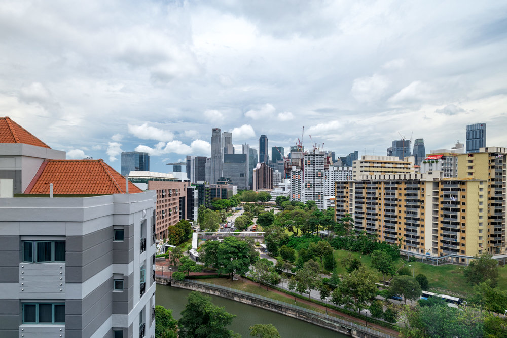 View from the Room  Club Riverview Studio King - InterContinental Singapore Robertson Quay