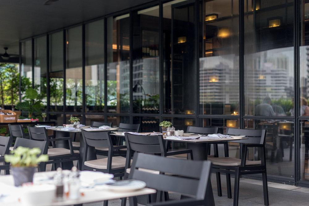 Al Fresco Dining Area  Club InterContinental Lounge - InterContinental Singapore Robertson Quay