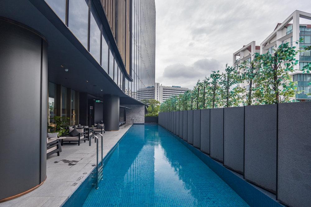 Swimming Pool  InterContinental Singapore Robertson Quay