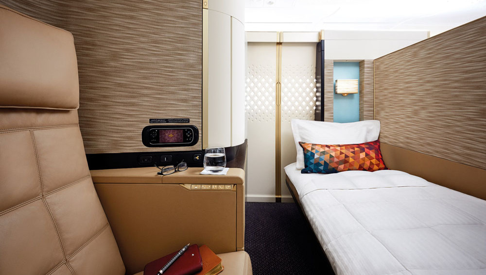 First Apartment | Photo Credit: Etihad Airways
