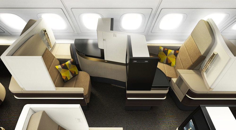 Business Class | Photo Credit: Etihad Airways