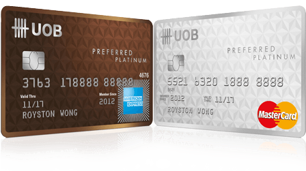 UOB Preferred Platinum American Express | Photo Credit: UOB