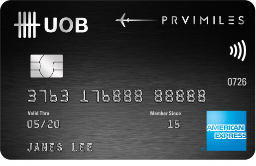 UOB PRVI Miles American Express Card | Photo Credit: UOB