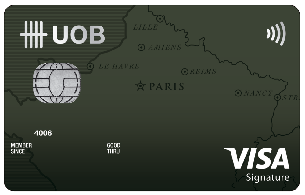 UOB Visa Signature Card | Photo Credit: UOB