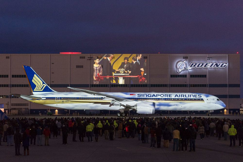 787 10 Dreamliner >> Delivery Of World S First Boeing 787 10 Dreamliner To Singapore