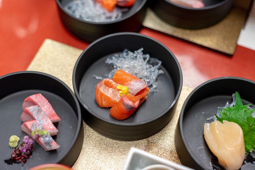 Sashimi  Dinner - Hoshino Resorts KAI Nikko