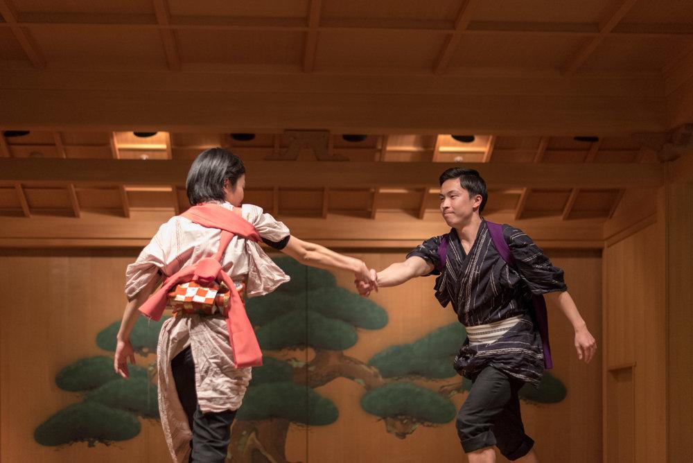 Nikko Geta Tap Dancing  Lobby Lounge - Hoshino Resorts KAI Nikko