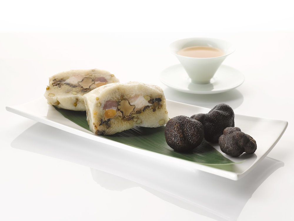 Truffle and Pork Belly Dumpling | Photo Credit: Holiday Inn Singapore Atrium