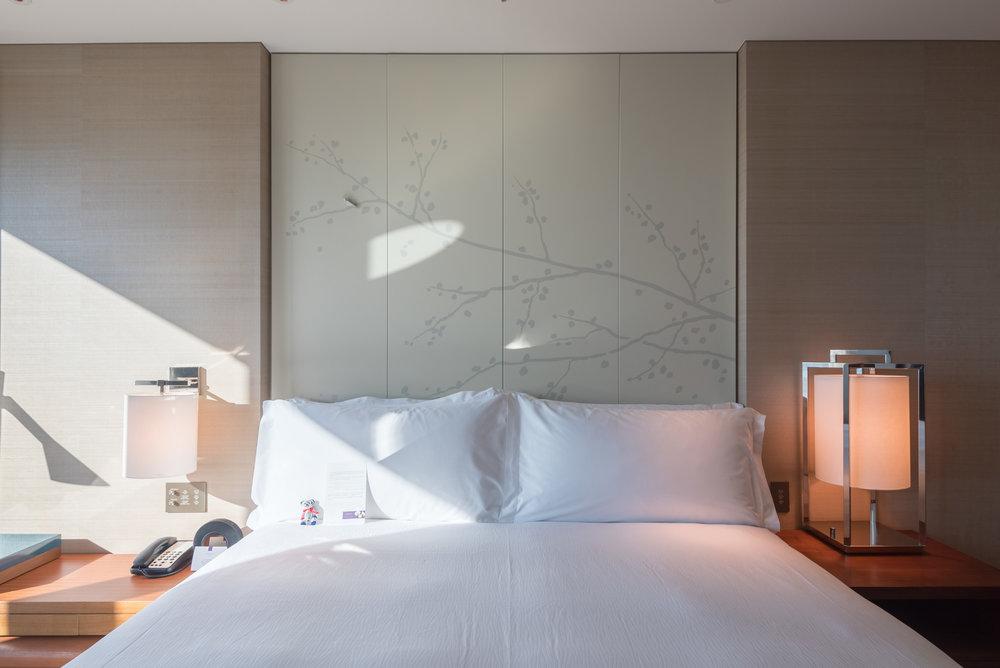 Bedroom  King Executive Suite Bay View - Conrad Tokyo