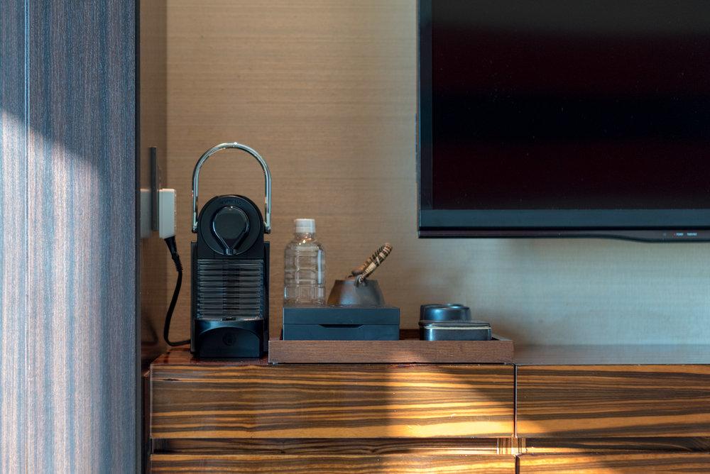 Nespresso Coffee Machine  King Executive Suite Bay View - Conrad Tokyo