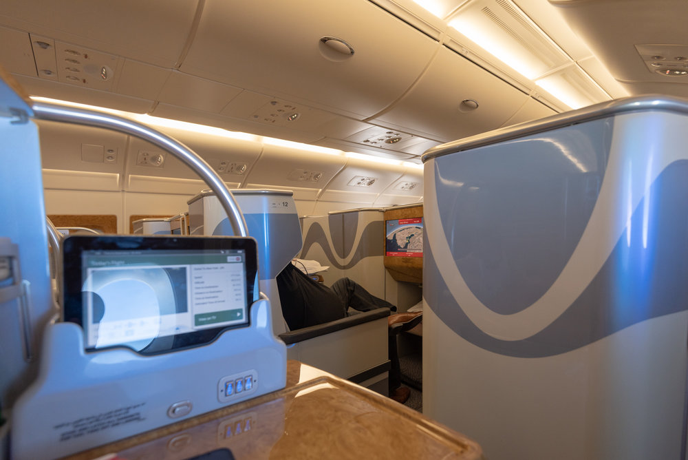 Trip Report Emirates Ek203 Business Class A380 800 Dxb To Jfk