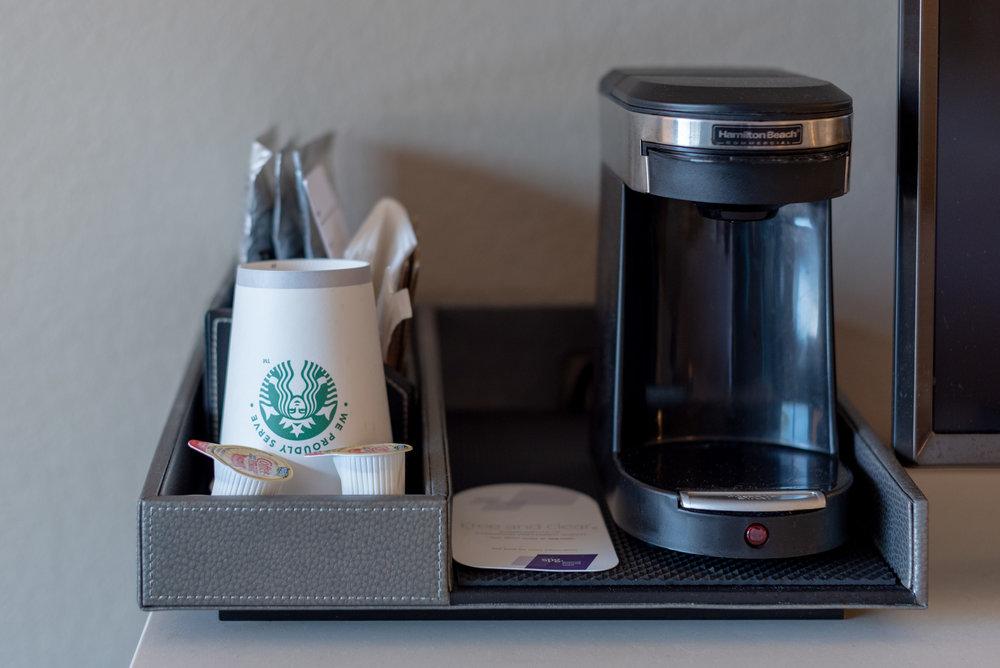 Starbucks Brewed Coffee in Room  Waterview Room - The Westin Tampa Waterside