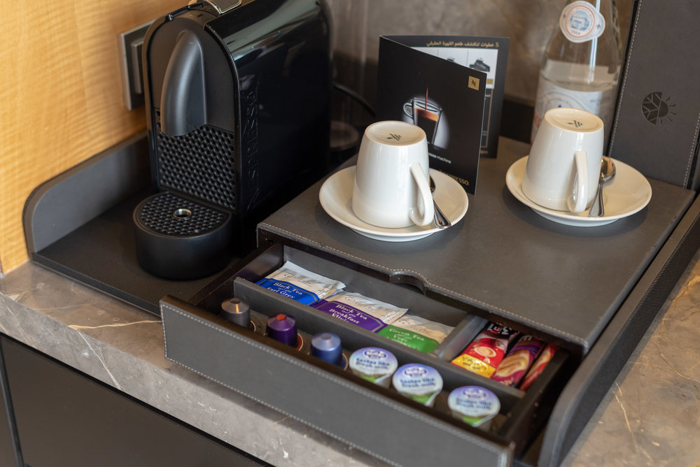 Nespresso Coffee Machine  Corner Suite - Kempinski Hotel Mall of the Emirates