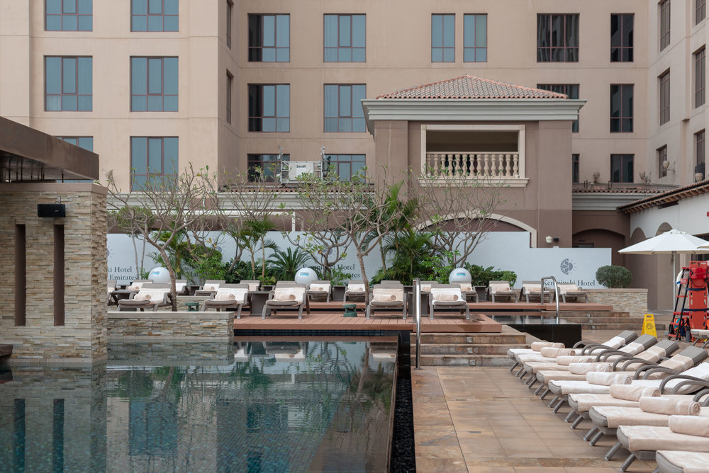 Swimming Pool  Kempinski Hotel Mall of the Emirates