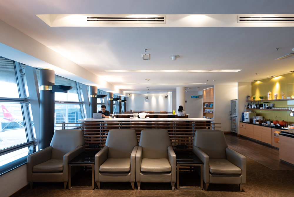 Seating Area  Singapore Airlines SilverKris Lounge - Kuala Lumpur International Airport (KLIA)