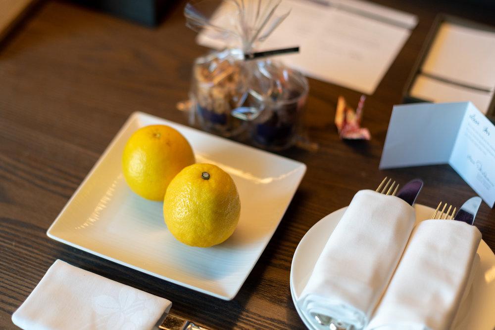 Welcome Amenities  Regency Club Room - Hyatt Regency Tokyo