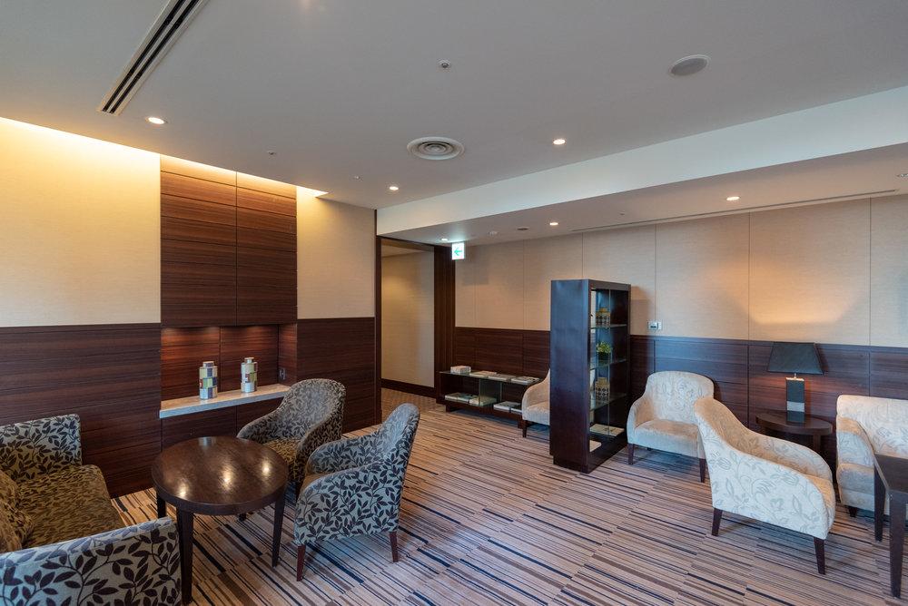 Seating Area  Regency Club Lounge - Hyatt Regency Tokyo