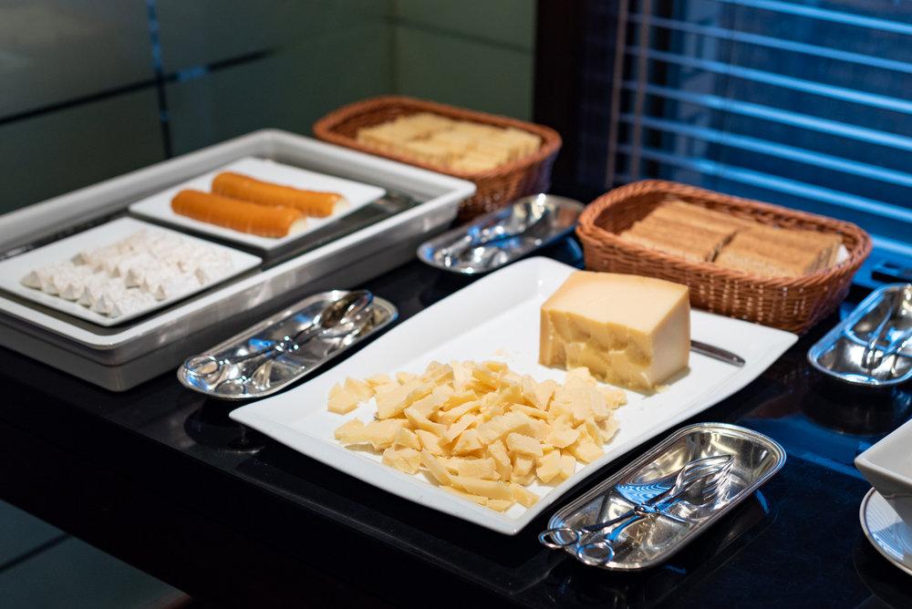 Cheese Selection  Regency Club Lounge - Hyatt Regency Tokyo