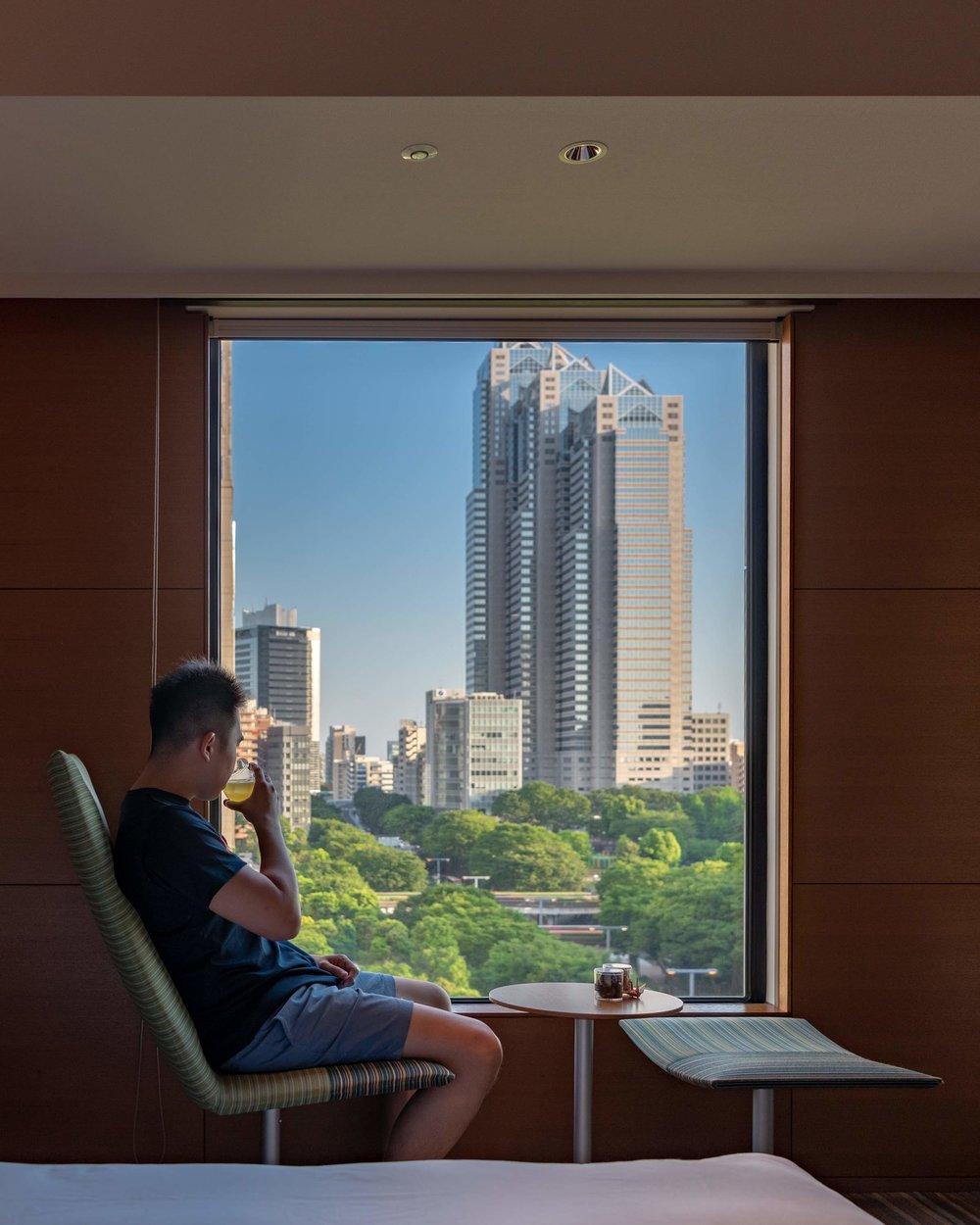 Room with a View  Regency Club Room - Hyatt Regency Tokyo