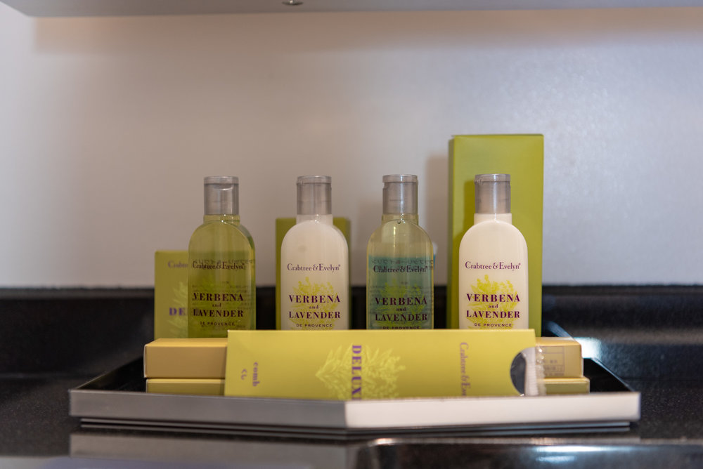 Bath Amenities by Crabtree & Evelyn  King Tower Suite Executive - Hilton Tokyo