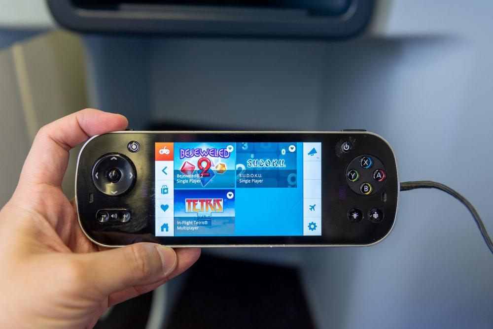Inflight Controller  KLM Business Class KL835 777-300ER - SIN to DPS