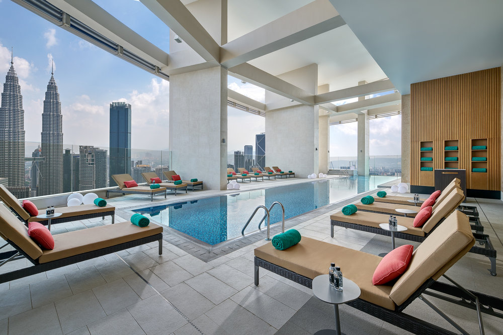 Swimming Pool | Photo Credit: Banyan Tree Kuala Lumpur