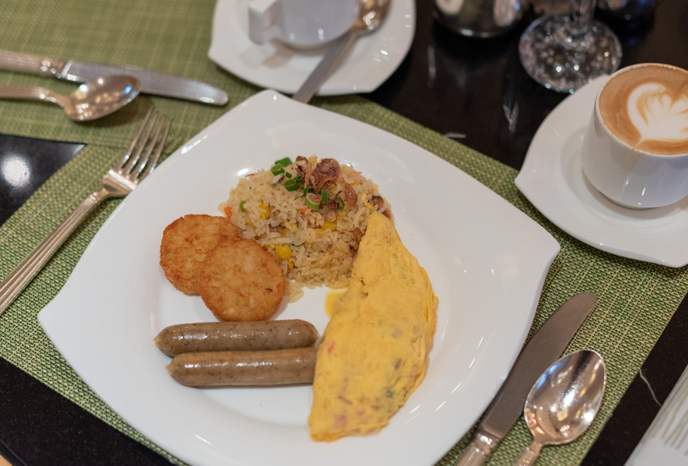 Buffet Breakfast  Oscar's - Conrad Centennial Singapore